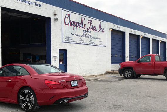 Chappell S Tires Is Family Owned Tire And Auto Service In